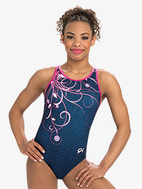 GK Elite - Womens Marvel Captain America Swirl Leotard
