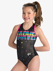 GK Elite - Womens Marvel Stars & Stripes Leotard