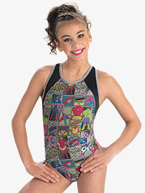 GK Elite - Womens Marvel Avengers Scene Leotard
