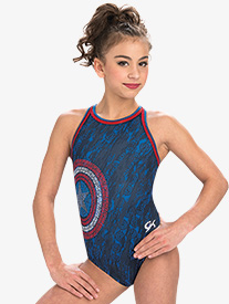 GK Elite - Girls Marvel American Shield Leotard