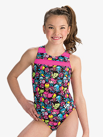 GK Elite - Girls Marvel Multi Kwaii Leotard