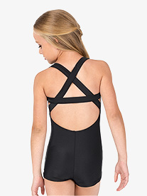 Double Platinum - Girls X-Back Tank Shorty Unitard