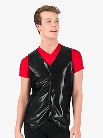 Double Platinum - Mens Button Down Performance Vest