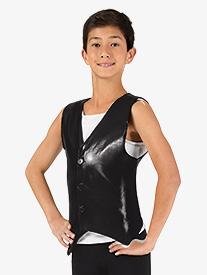 Double Platinum - Boys Button Down Performance Vest