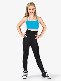 Natalie - Girls Cotton High Waist Leggings