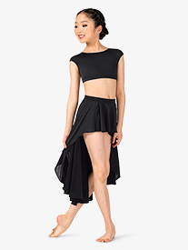 Natalie - Girls Lyrical Flow Collection High-Low Skirt