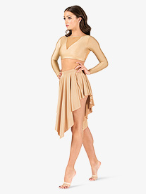 Natalie - Womens Lyrical Flow Collection Asymmetrical Skirt