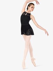 "Natalie Couture - Womens ""Kaleidoscope"" Mesh Ballet Skirt"