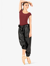 Russian Pointe - Womens High Waist Trash Bag Dance Pants