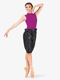 Russian Pointe - Womens High Waist Trash Bag Dance Shorts