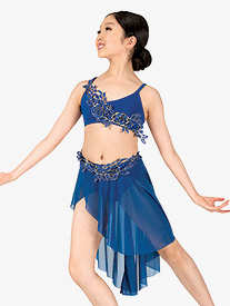 Beau Monde - Girls/Womens Performance 2-Piece Lyrical Set