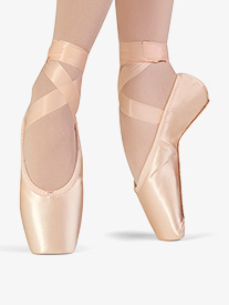 """Bloch - Womens """"Synthesis"""" Full Sole Satin Pointe Shoes"""