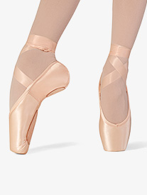 "Bloch - Womens ""Superlative"" Split Sole Satin Pointe Shoes"
