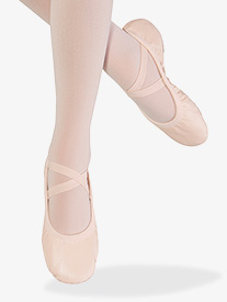 "Bloch - Womens ""Odette"" Leather Split Sole Ballet Shoes"