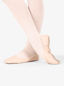 "Bloch - Girls ""Giselle"" Leather Full Sole Ballet Shoes"
