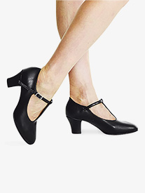 Bloch - Womens ''Roxie'' 2'' T-Strap Character Shoes