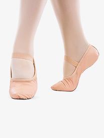 So Danca - Girls ''Bella'' Premium Leather Full Sole Ballet Shoes