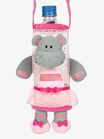 All About Dance - Hippo Ballerina Water Bottle Holder