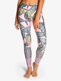 Sylvia P - Girls ''Keep Palm Tight'' Full-Length Active Leggings