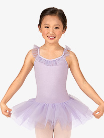 Theatricals - Girls Ruffle Neck Camisole Tutu Ballet Dress