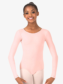 Theatricals - Girls Trestle Back Long Sleeve Leotard