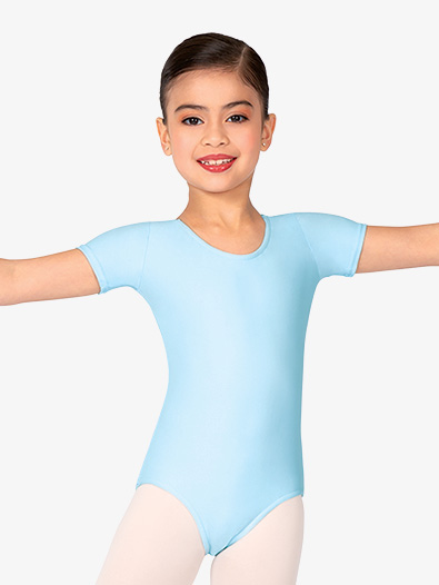 05e720851bc1 Short Sleeve Dance Leotard - Short Sleeves