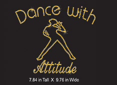 Custom design: Dance with Attitude