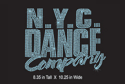 Custom design: N. Y. C Dance Company