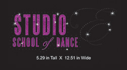Custom design: Studio Studio School of Dance